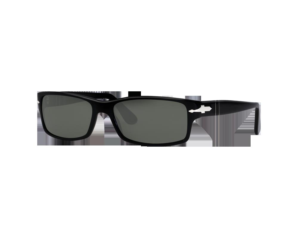 e659e56bf6 Persol 2747S Black Crystal Green Polarized - PO2747S 95 48 o - Sunglasses -  IceOptic