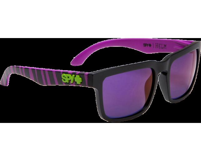 2c9cd8da0 Spy Helm Ken Block Ripper Grey With Purple Spectra (+MAtte Black Temples) -  673015217727 - Sunglasses - IceOptic