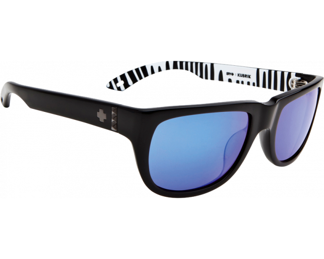 Spy Kubrik Ken Block Black Grey Blue Mirror