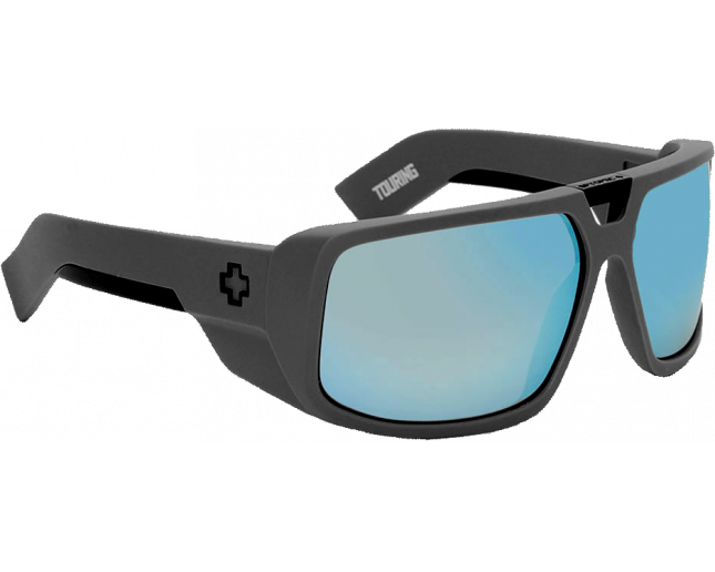 bee22ed775cb9 Spy Touring Primer Grey Grey With Blue Spectra - 670795865139 - Sunglasses  - IceOptic