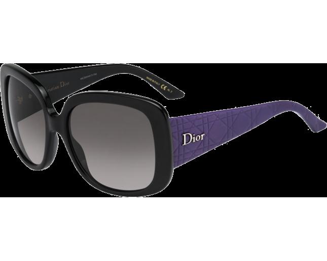 06d9e86554 Dior Lady Lady 1 Bkpurpblk (Grey SF) - 226509 KA6/EU - Lunettes de ...