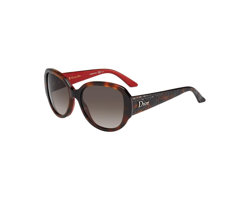 dior lady in dior 1 havanared brown sf 251857 el5 ha lunettes de soleil iceoptic. Black Bedroom Furniture Sets. Home Design Ideas