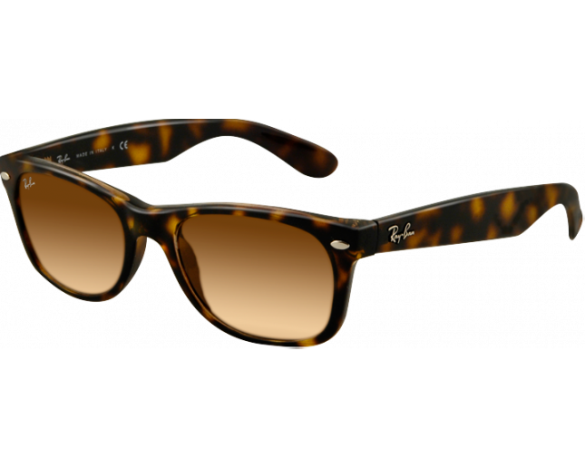 RB2132 710 51 55. Ray-Ban New Wayfarer Light Havana Crystal Brown Gradient 0d7ee76a743e