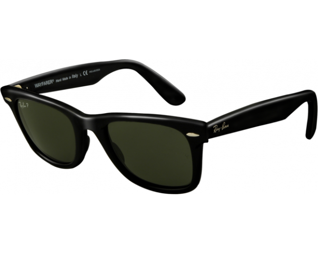 67e0762cfa Ray-Ban Original Wayfarer Black Crystal Green Polarized - RB2140 901 58 -  Sunglasses - IceOptic