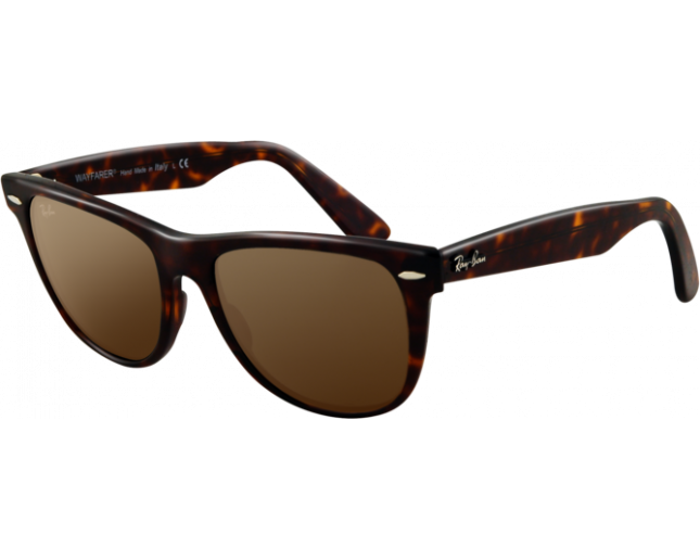 a1700dc4de Ray-Ban Original Wayfarer Tortoise Crystal Brown Polarized - RB2140 902 57  - Sunglasses - IceOptic