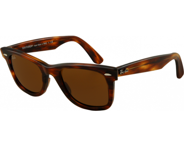 7962cf2c27d4 Ray-Ban Original Wayfarer Light Tortoise Crystal Brown - RB2140 954 -  Sunglasses - IceOptic