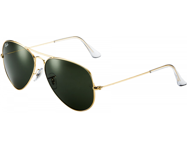 Ray-Ban Aviator Gold Grey Green