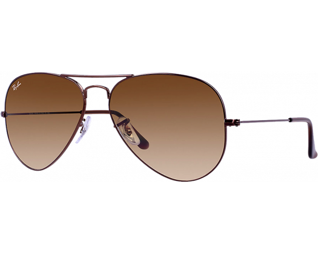 Ray-Ban Aviator Brown Crystal Brown Gradient - RB3025 014 51 - Sunglasses -  IceOptic 2eaf69d824
