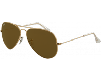 Ray-Ban Aviator Large Gold G-15 Mirror Gold