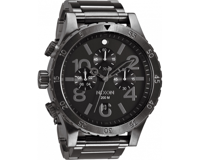 Nixon The 48-20 Chrono All Gunmetal
