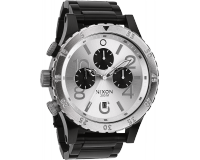 Nixon The 48-20 Chrono Black/Silver