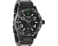 Nixon The Diplomat SS Black/Silver/Green