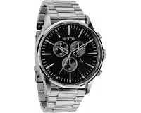 Nixon The Sentry Chrono Black