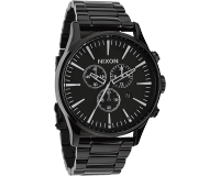 Nixon The Sentry Chrono All Black