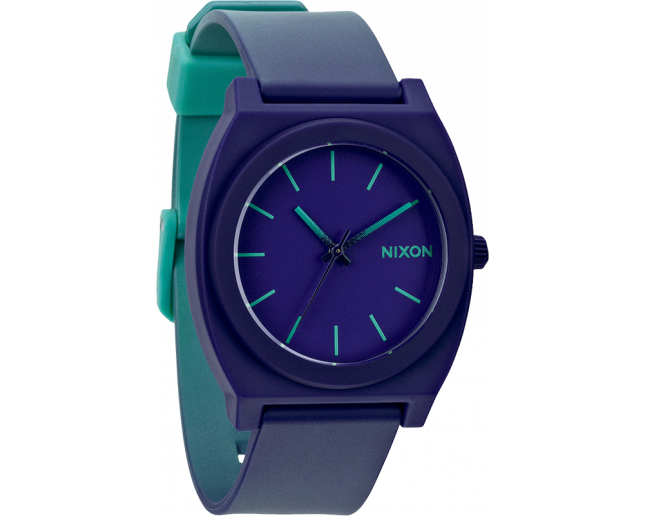 Nixon The Time Teller P Teal/Purple fade
