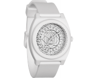Nixon The Time Teller P All White Shadow