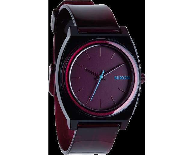 Nixon The Time Teller P Translucent Burgundy