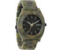 Nixon The Time Teller Acetate Matte Black/Camo