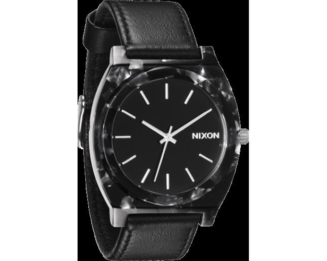 Nixon The Time Teller Acetate Leather Grey/Granite