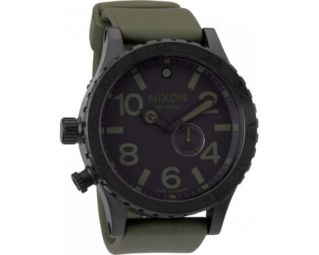 Nixon The 51-30 PU Matte Black/Surplus