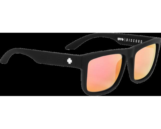 675dc72ddb0 Spy Discord Matte Black Spy+Kab Grey With Pink Spectra - 673119374810 -  Sunglasses - IceOptic