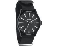 Nixon The Sentry All Black Nylon