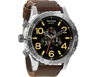Nixon The 51-30 Chrono Leather Black/Brown