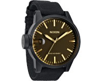 Nixon The Chronicle Matte Black/Orange Tint