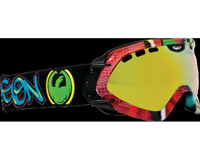 Dragon Masque de Ski Mace Simon Chamberlin Signature Gold Ion