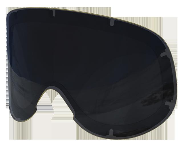 POC Lid Ski Goggles BOHRIUM RED BRONZE tint with SILVER mirror