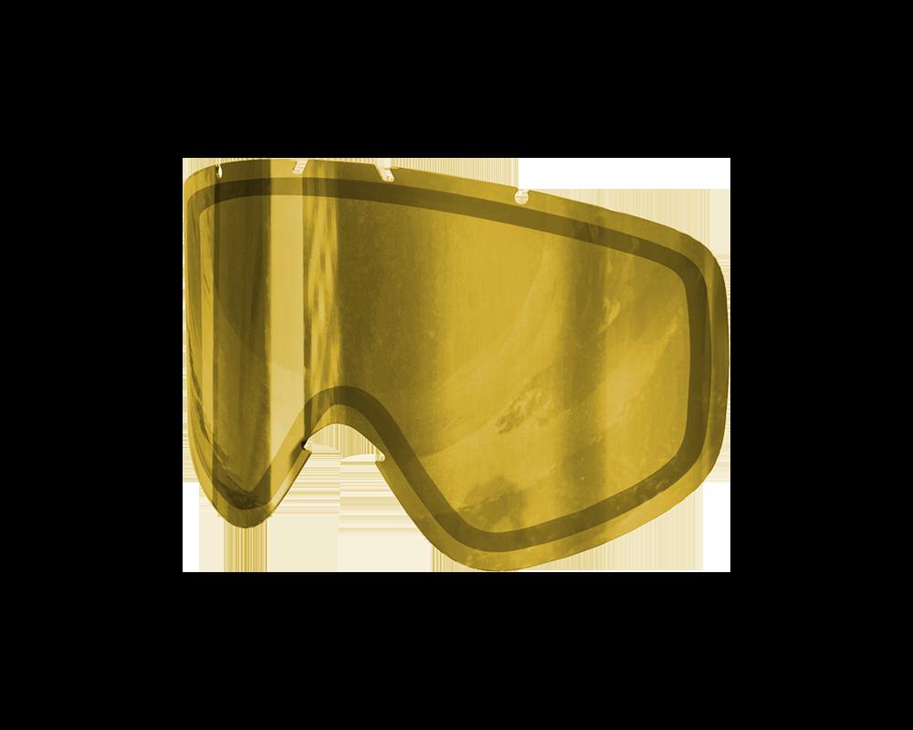 poc ecran iris l clear gold mirror w41044 153 l ice masques de ski iceoptic. Black Bedroom Furniture Sets. Home Design Ideas