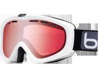 Bollé Masque de Ski Porteur de Lunette Y6 OTG Shiny White Vermillon Gun Cat.2