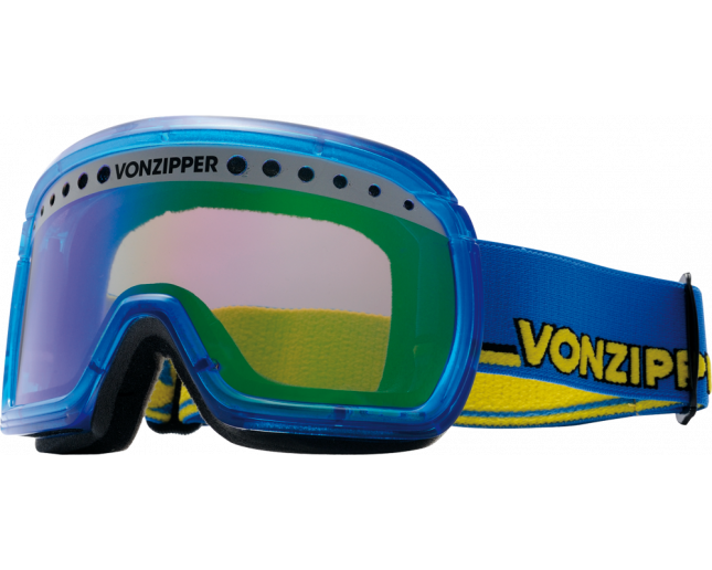 VonZipper Fubar Bleu Transucent/Astro Chrome