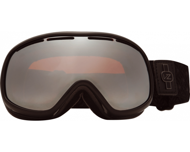 VonZipper Chakra Black Out/Amber Chrome
