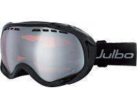 Julbo Masque de Ski Jupiter OTG Noir Brillant Orange Flash Argent