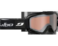 Julbo Masque de Ski Plasma OTG Noir Brillant Orange Flash Argent
