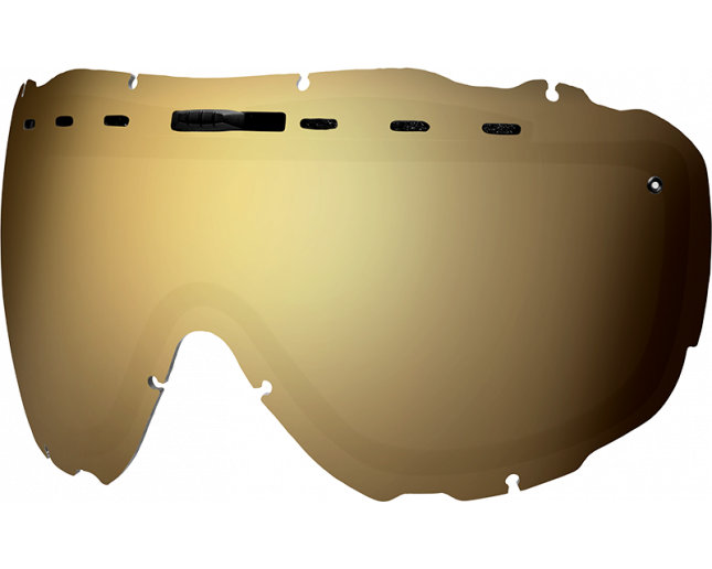 Smith Ecran Prophecy OTG/Prodigy Gold Solx Mirror
