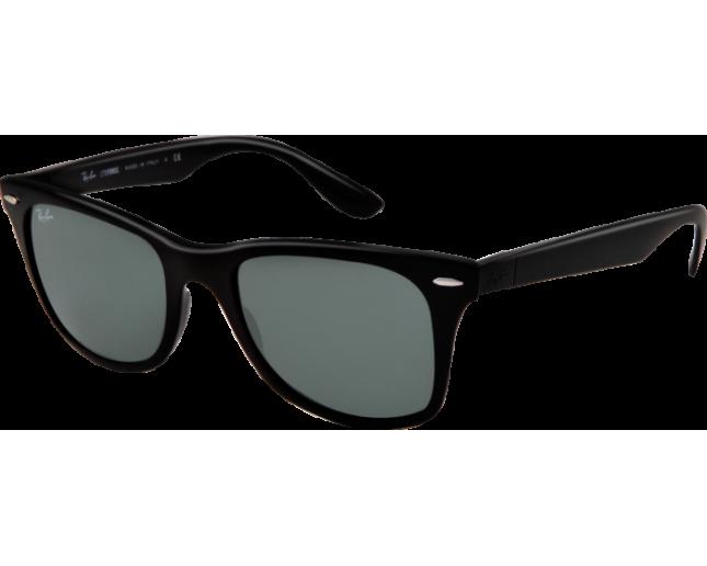 ab80e53a1e7 Ray-Ban Liteforce Wayfarer Tech Black Plastic Green - RB4195 601 71 -  Sunglasses - IceOptic