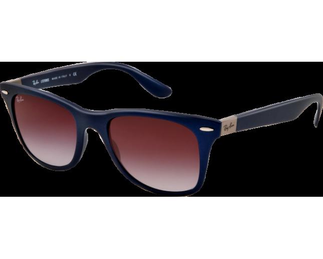 a0457241cc Ray-Ban Liteforce Wayfarer Tech Blue Plastic Grey Gradient - RB4195 6015 8G  - Sunglasses - IceOptic