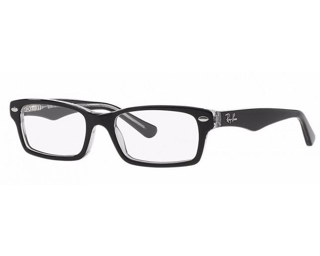 Ray-Ban Junior RY1530 Top Black On Transparent