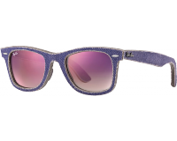 Ray-Ban Original Wayfarer Denim Jeans Violet Clear Gradient Violet