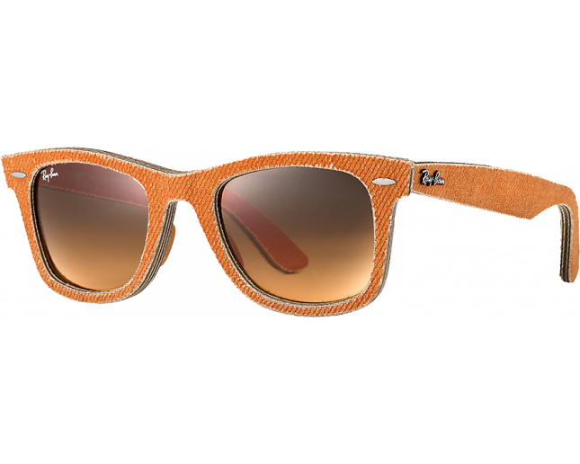 6867bddc7 ... low cost ray ban original wayfarer denim jeans orange orange gradient  brown ad3f2 0c9a8