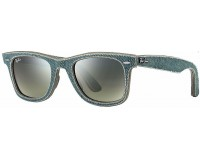 Ray-Ban Original Wayfarer Denim Jeans Green Green Gradient Green