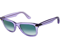 Ray-Ban Wayfarer Ice Pop Demi Gloss Ice Blue Gradient Blue