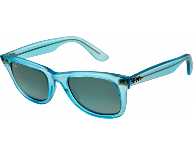 Ray-Ban Wayfarer Ice Pop Demi Gloss Ice Blue Gradient Blue