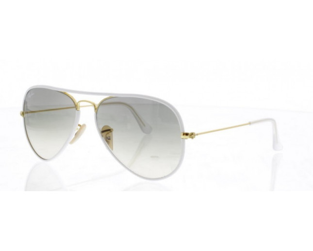 9818ed1a74af0 Ray-Ban Aviator Full Color Shiny Gold Grey Gradient - RB3025JM 146 32 -  Sunglasses - IceOptic