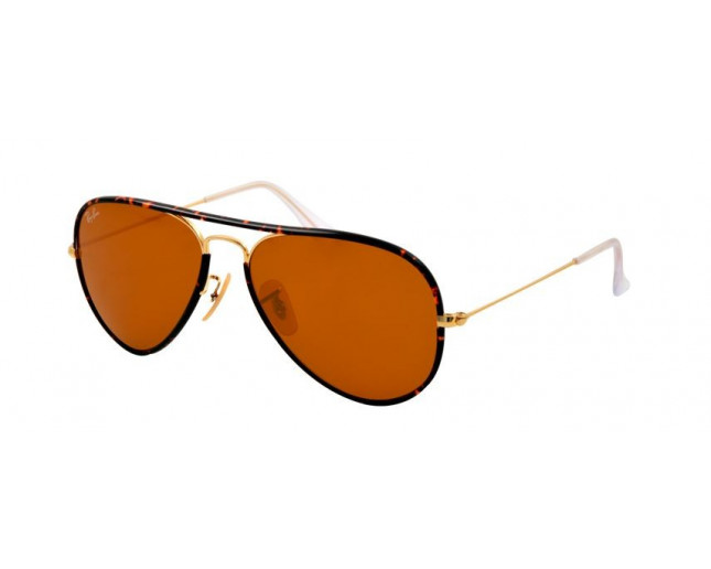 3f916861571 Ray-Ban Aviator Full Color Arista Brown - RB3025JM 001 - Sunglasses -  IceOptic