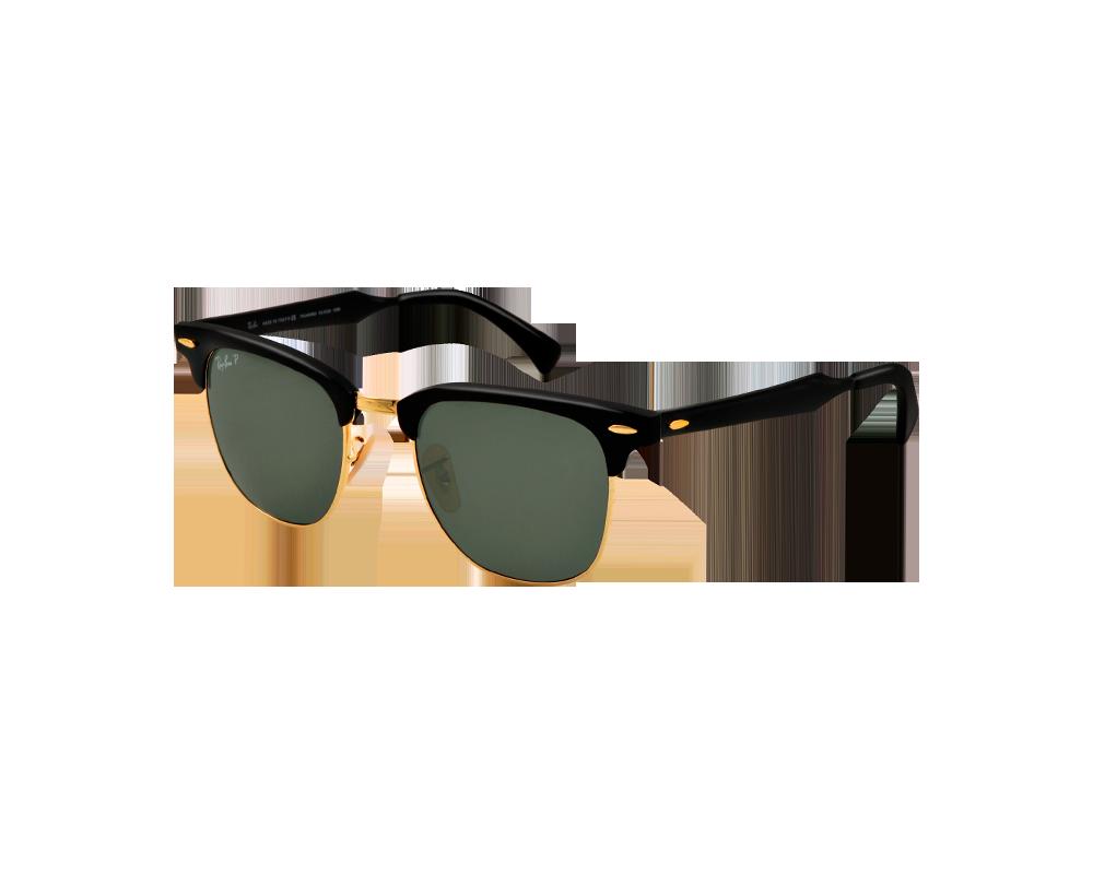 7e446e0ee3d889 Ray-Ban Clubmaster Aluminium Black Arista Polar Green - RB3507 136 N5 -  Sunglasses - IceOptic