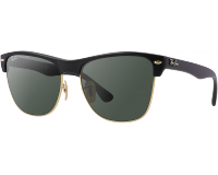 Ray-Ban Clubmaster Oversized Demi Shiny Black/Arista Crystal Green