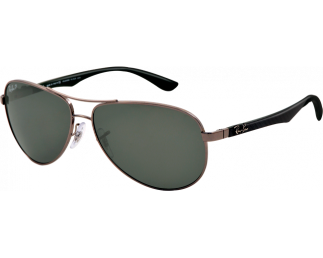 240c791a6d5 Ray-Ban Aviator Tech Carbon Fibre Gunmetal Polar Grey - RB8313 004 N5 -  Sunglasses - IceOptic